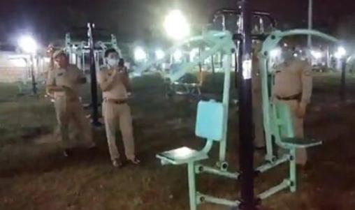 印度某公园健身器材深夜自己运动 事件始末最新消息