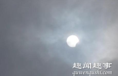 最佳观测点!90秒看西藏阿里日环食 金色圆环闪耀天空真是太好看了
