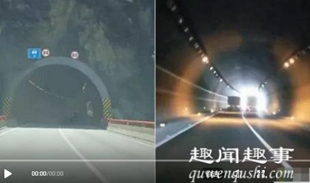 """近日,一段""""最牛高速路段""""的视频走红,从西安到成都的京昆高速秦岭段,每当司机开车"""