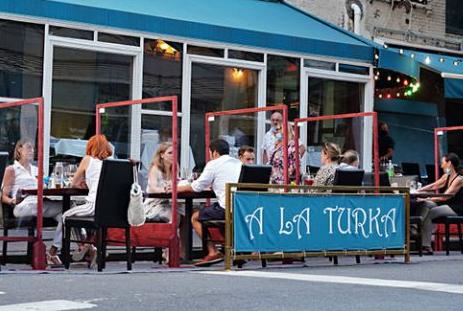 纽约将全年实行户外用餐计划 为什么这么做背后原因是什么?
