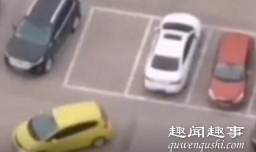 女司机开车上班找不到停车位 随后举动让网友直呼太牛了