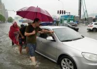 郑州特大暴雨千年一遇 实在太恐怖了